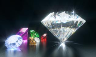C4D教程-钻石