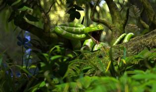 C4D教程-自然丛林