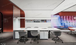 POLY VOLY办公空间设计——众舍空间设计事务所