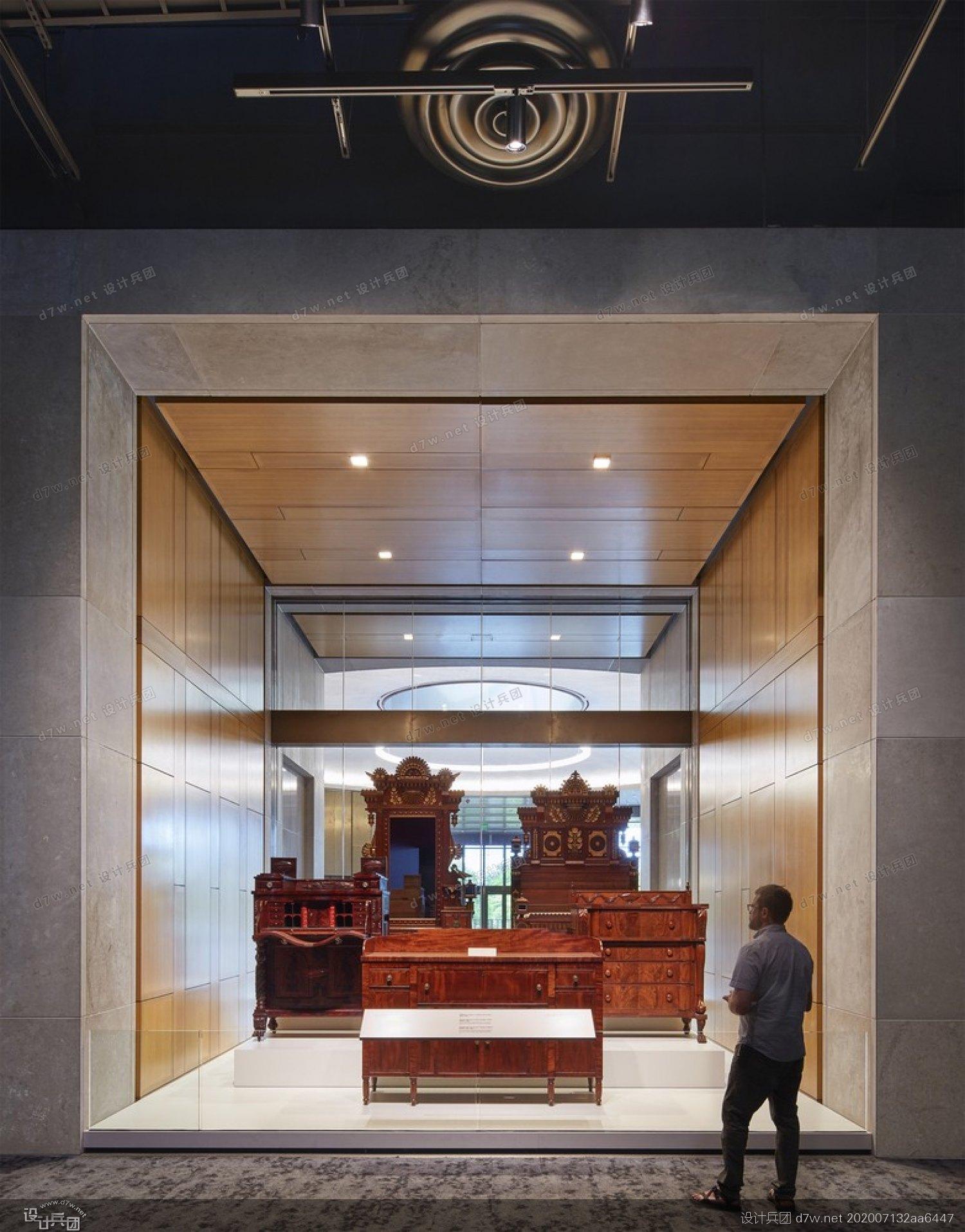 白兵3d数据_田纳西州立博物馆 --EOA Architects + HGA - 设计兵团_展厅_博物馆设计 ...