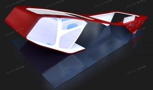 圆角曲折造型