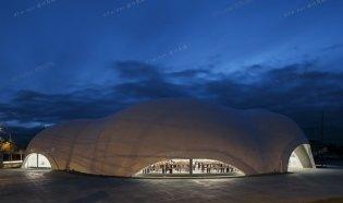Hoto Fudo 餐厅--Takeshi Hosaka Architects
