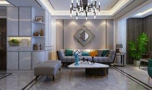 张家界阳光水岸室内设计效果图,轻奢风格设计效果图,张家界装潢设计公司,张家界中达装饰,多种风格专业设计。