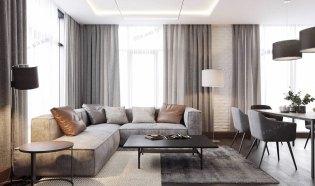富华里小区室内设计,现代简约设计效果图,张家界中达装饰,室内装潢设计,多种风格专业设计装修,