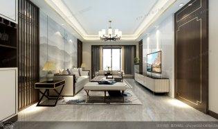 家裝效果圖-新中式