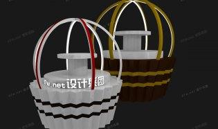 '蛋糕杯'造型