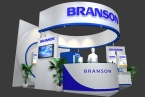 BRANSON展台模型