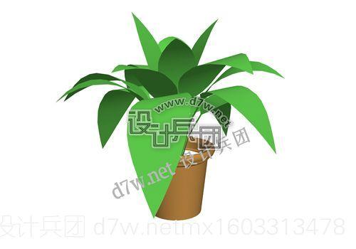 d7w.net带花盆的草.jpg